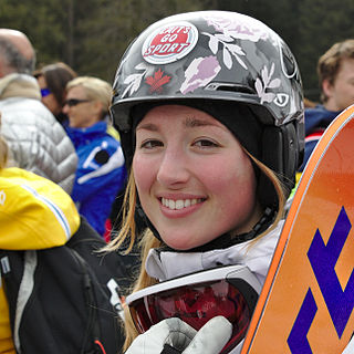 Chloé Dufour-Lapointe Canadian freestyle skier