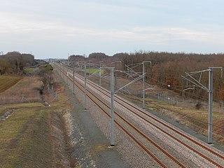 LGV Sud Europe Atlantique French high-speed railway