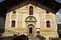 Façade de l'église Saint-Jacques d'Assyrie (Hauteluce, Savoie, France).jpg