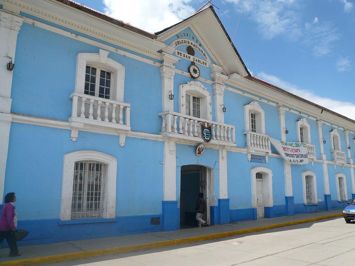 Glorioso Colegio Nacional de San Carlos - Wikipedia, la enciclopedia ...