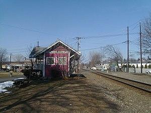 Fairmount Avenue station - The former Fairmount Avenue Station.