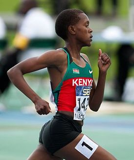 Faith Kipyegon Kenyan middle-distance runner