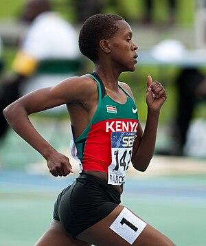 Faith Kipyegon - Faith Kipyegon at the 2012 World Junior Championships in Athletics