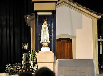 Cova da Iria - The Chapel of the Apparitions in Cova da Iria, Fátima, Portugal.