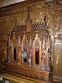 Febvin-Palfart (Pas-de-Calais) église Sainte-Berthe PA00108277 stalles.JPG
