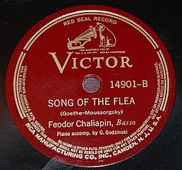 Feodor Chaliapin - Song of the Flea - Victor 14901B