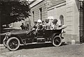 Ferdinand d`Este s manželkou a doprovodem v den atentátu v Sarajevu, 28. 6. 1914.jpg