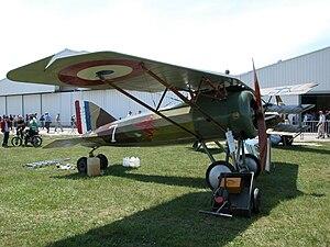 Morane-Saulnier AI - Image: Ferte Alais Air Show 2004 19