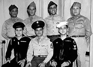 "Puerto Ricans in World War II - ""The Fighting Medinas"