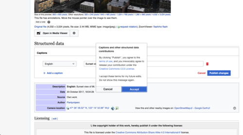 Commons talk:Structured data - Wikimedia Commons