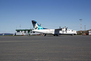 Kugluktuk Airport - Regular scheduled flights daily by First Air