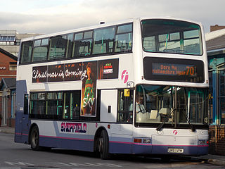 First South Yorkshire Bus operator in South Yorkshire