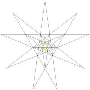 The Fifty-Nine Icosahedra - Image: First stellation of icosahedron facets