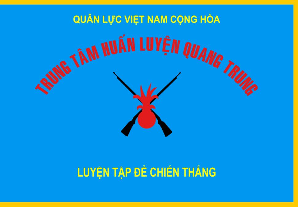 Flag of Quang Trung National Training Center