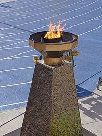 Flama olímpica - Stgo 2014.jpg