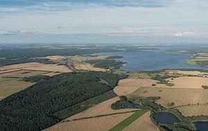 Fleesensee - Aerial view of Fleesensee
