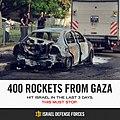 Flickr - Israel Defense Forces - Infographics, 400 Rockets From Gaza.jpg