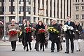 Flickr - Saeima - Baltijas valstu un Polijas parlamentārieši noliek ziedus pie Brīvības pieminekļa.jpg