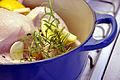 Flickr - cyclonebill - Kylling med hvidløg, citron, rosmarin og sort peber.jpg