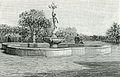 Foggia fontana centrale del Mercurio nei giardini pubblici xilografia.jpg