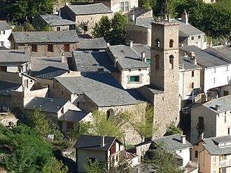 Fontpédrouse - The church in Fontpédrouse