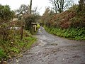 Footpath off Berry Lane - geograph.org.uk - 1600953.jpg