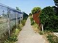 Footpath west of Montrose Close, Moredon, Swindon - geograph.org.uk - 1382657.jpg