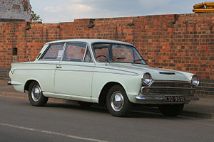 "Ford Cortina - Ford Cortina Super 2 door saloon (""Mark 1"")"