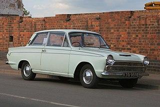 Ford Cortina car model