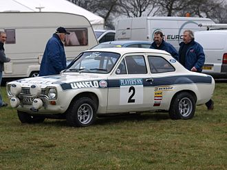 International Championship for Manufacturers - Roger Clark's 1972 RAC Rally -winning Ford Escort RS1600.