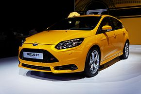 Ford Focus - Mondial de l'Automobile de Paris 2012 - 001.jpg