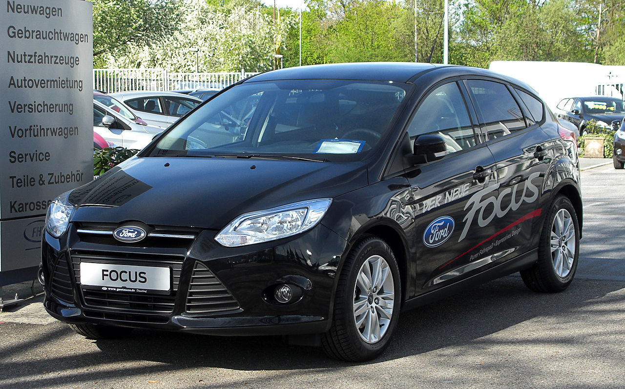 File Ford Focus 1 6 Ecoboost Trend Iii Frontansicht 9