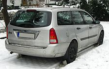 Ford Focus I Turnier (1999–2001) Ghia rear MJ.JPG