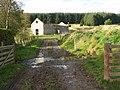 Ford and ruined barn, Upper Stewarton - geograph.org.uk - 269075.jpg