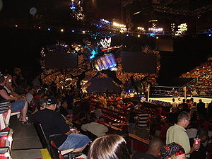 WWE Velocity - WWE Velocity set used from May 25, 2002 to June 11, 2006, which is exactly the same set used for SmackDown.