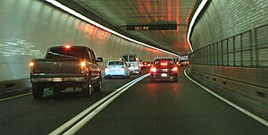 Fort McHenry Tunnel - Southbound tunnel, Bore 2
