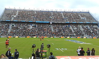 Jaguares (Super Rugby) - Estadio José Amalfitani at the Jaguares home debut versus Chiefs in the 2016 Super Rugby