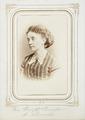 Fotografiporträtt på Johanna Henriette Kempe, f. Diewel, 1860-tal - Hallwylska museet - 107829.tif