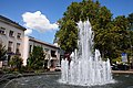 Fountain at the central square at Bergerac - panoramio.jpg