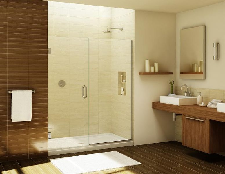 Frameless Glass Shower Door Hinge Adjustment