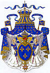 Royal coat of Arms of France (House of Bourbon)
