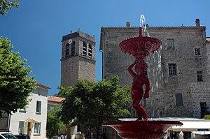 Antraigues-sur-Volane - The Town Centre