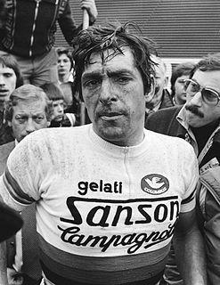 Francesco Moser Italian cyclist