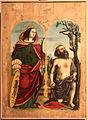 Francesco de tatti, polittico di bosto, 1517, 02 caterina d'alessandria e girolamo.JPG