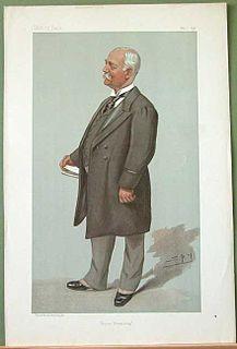 Sir Francis Evans, 1st Baronet