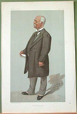 Francis Henry Evans, Vanity Fair, 1896-05-07