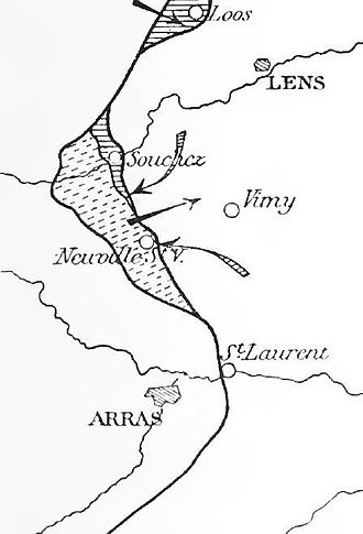 Third Battle of Artois - Franco-British offensive, September 1915