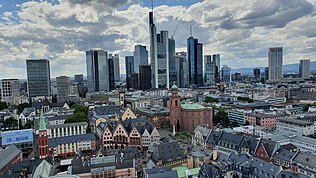 Central Business District of Frankfurt am Main