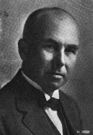 Frederick D. Gardner - Frederick D. Gardner in 1916