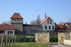 Freinsheim - Part of the town wall
